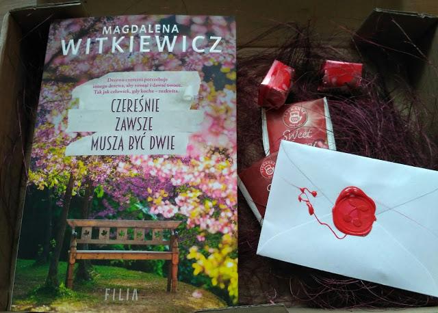 """IMG 20170511 085815 2 - """"Czereśnie zawsze muszą być dwie"""" Magdalena Witkiewicz"""