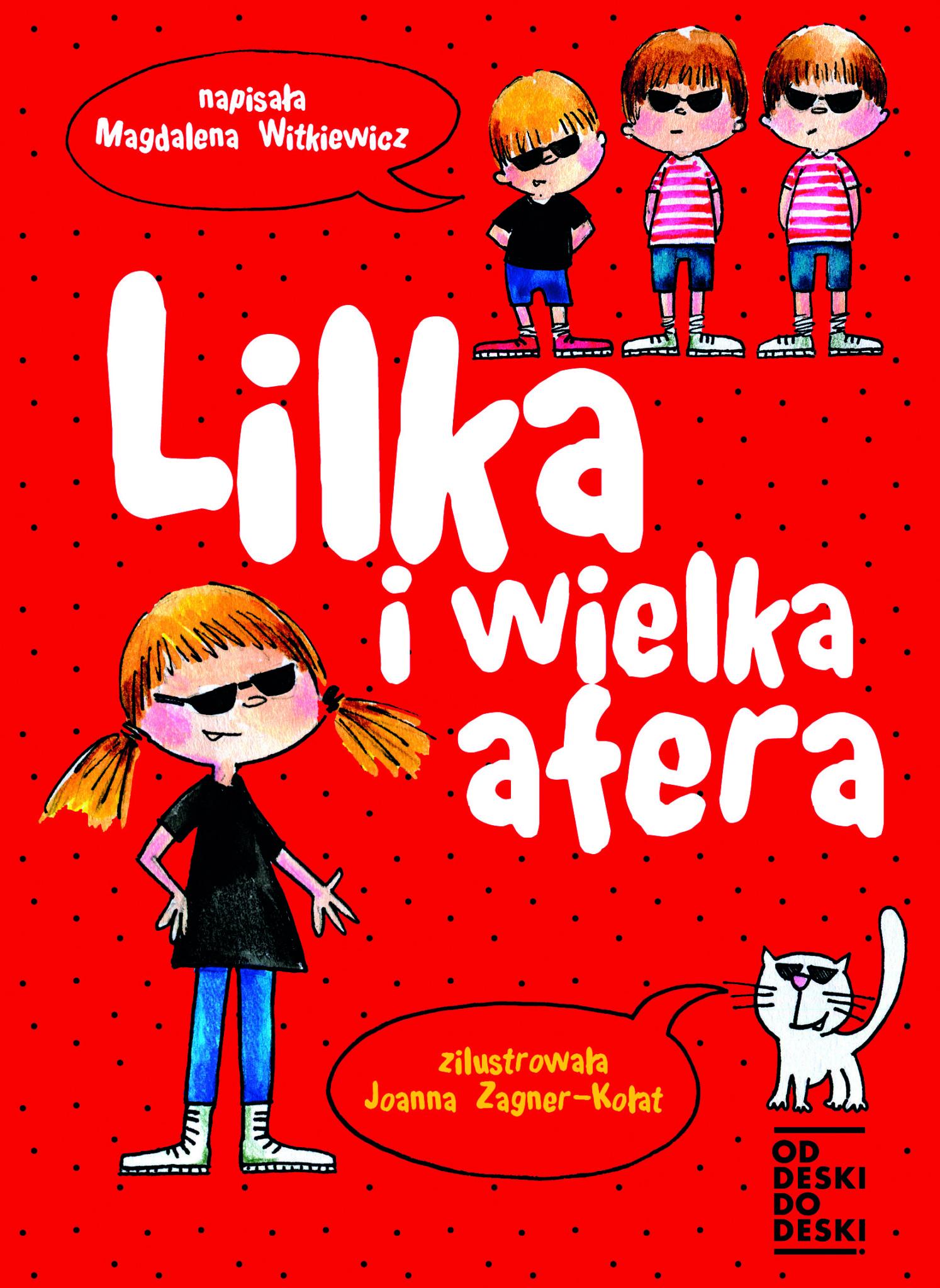 """38508c3 lilka i wielka afera 2 - """"Lilka i wielka afera"""" Magdalena Witkiewicz"""
