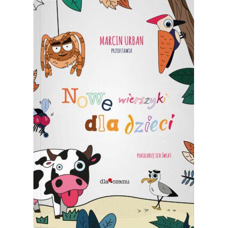 9788394926830 - Nowe wierszyki dla dzieci - Marcin Urban