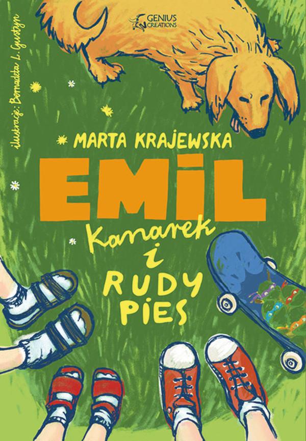 emil kanarek i rudy piesbig920138 - Emil, kanarek i rudy pies - Marta Krajewska
