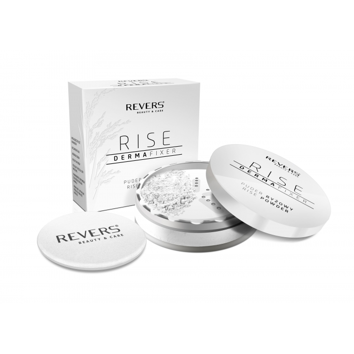 puder ryzowy rise derma fixer - Puder ryżowy - Revers Cosmetics