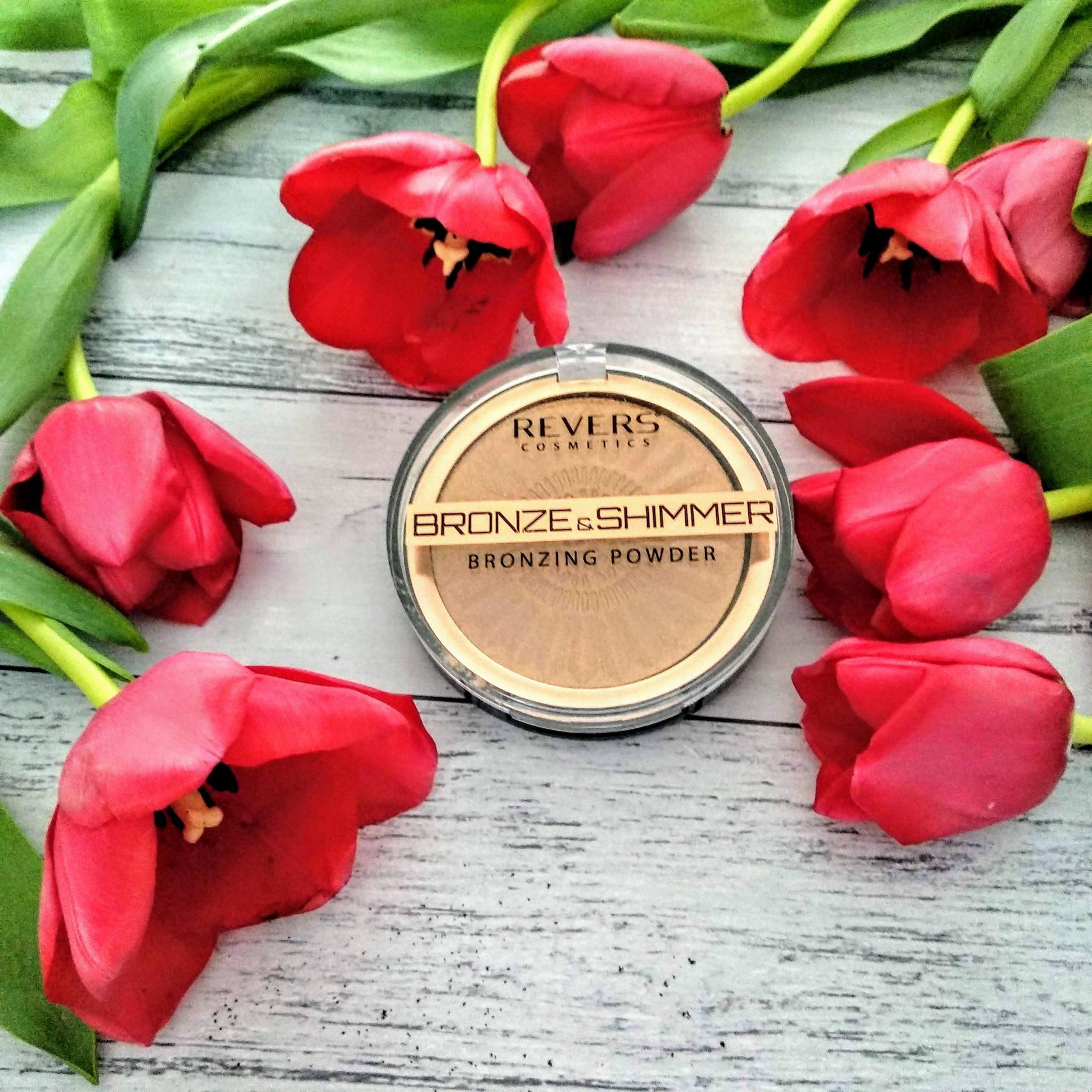 bronzer puder brązująco-rozświetlający Revers