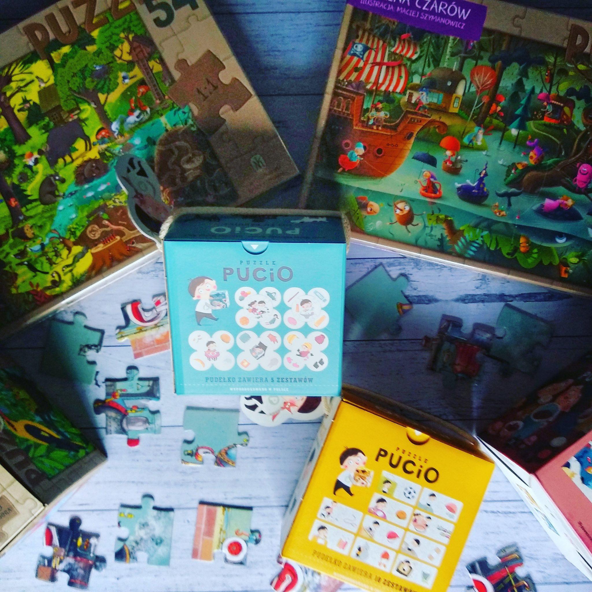 puzzle pucio nasza księgarnia dla dzieci