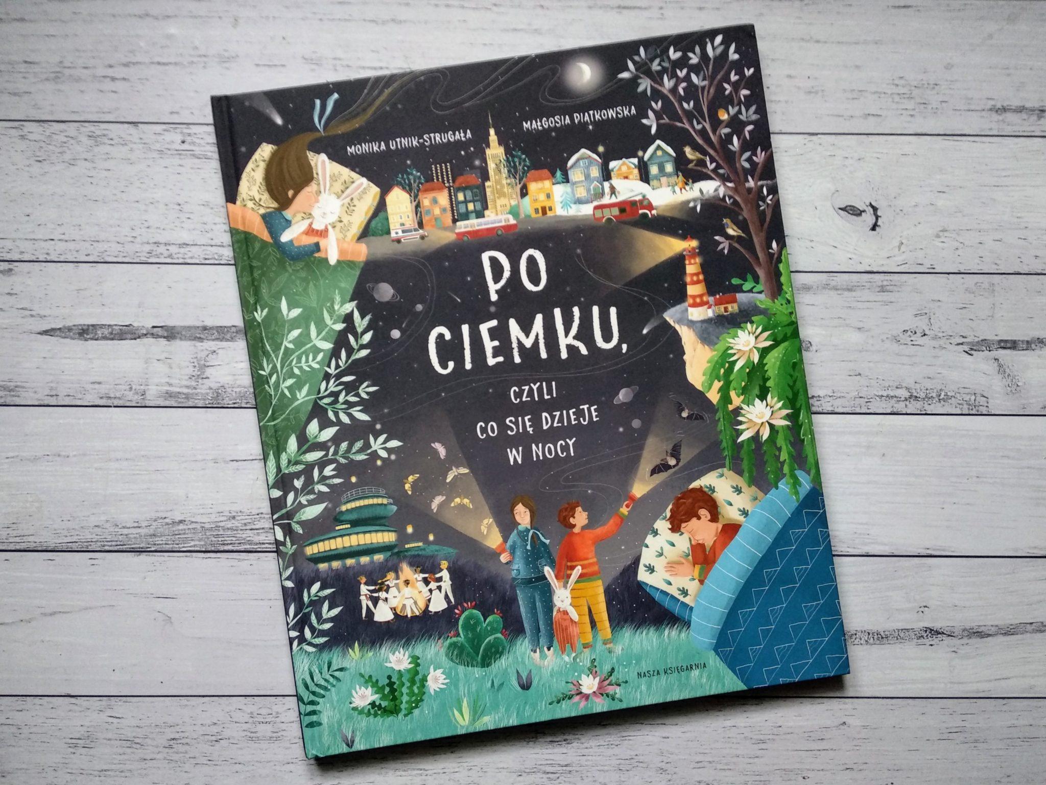 po ciemku książka dla dzieci