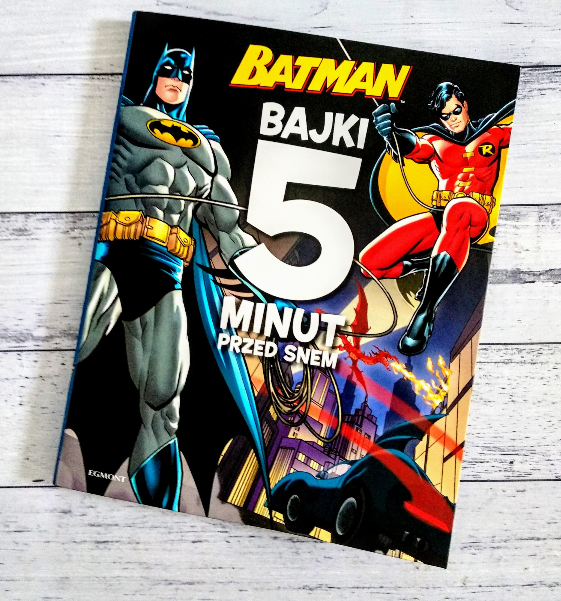 """""""Batman. Bajki 5 minut przed snem"""""""
