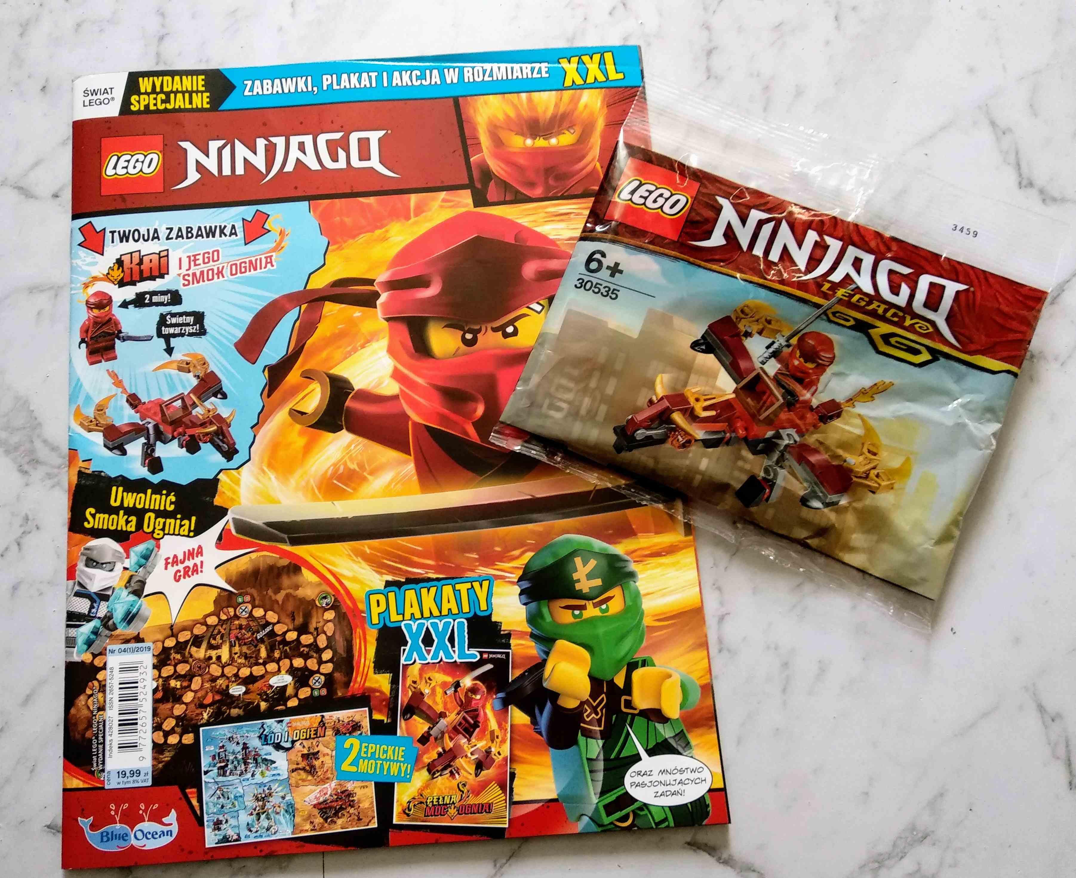 Magazyn LEGO Ninjago